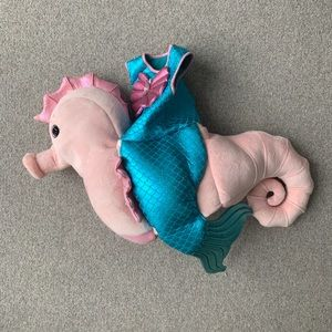 Seahorse & Mermaid toddler Halloween costume!